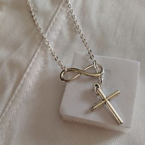 """Other - """"Infinity/Cross""""👌 Necklace"""